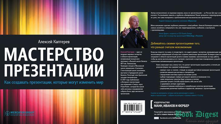 Книга Мастерство презентации