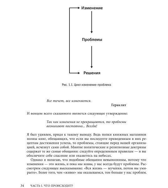 Управление жизненным циклом корпораций - страница из книги
